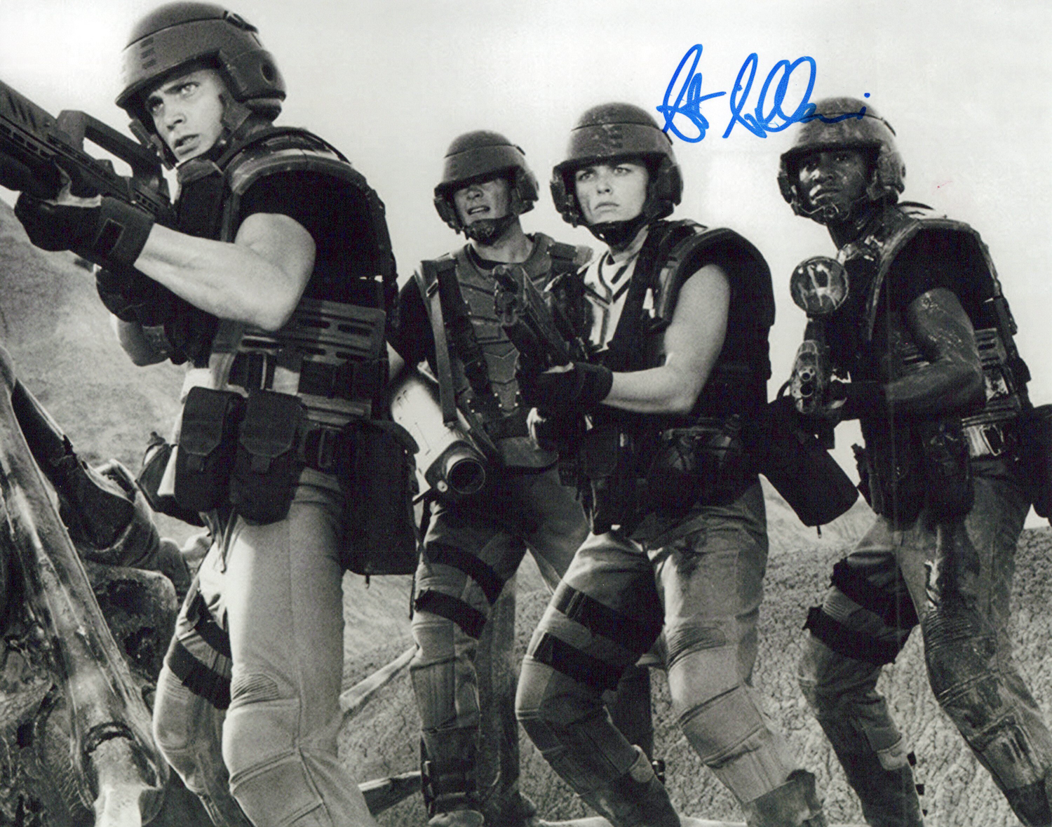 Seath Gilliam Original Autogramm auf Foto 20x25cm  - Starship Troopers