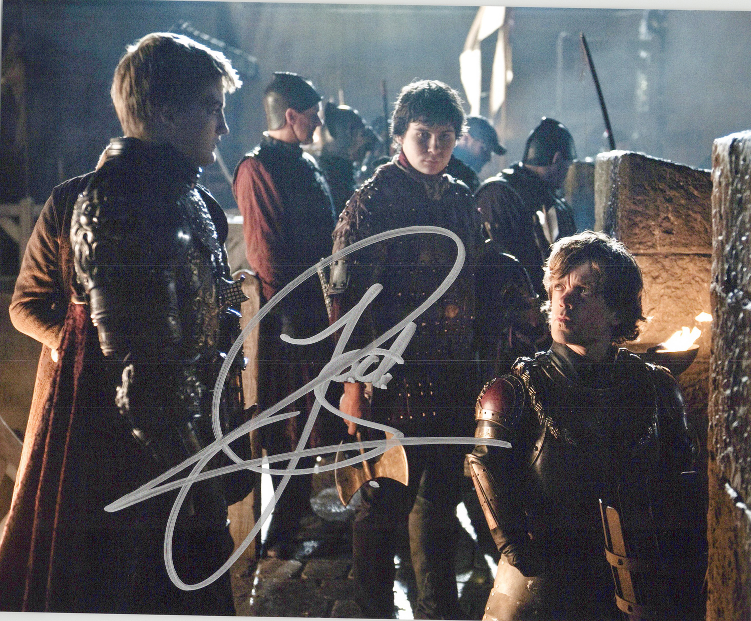Jack Gleeson Original Autogramm auf Foto 20x25cm - Game of Thrones