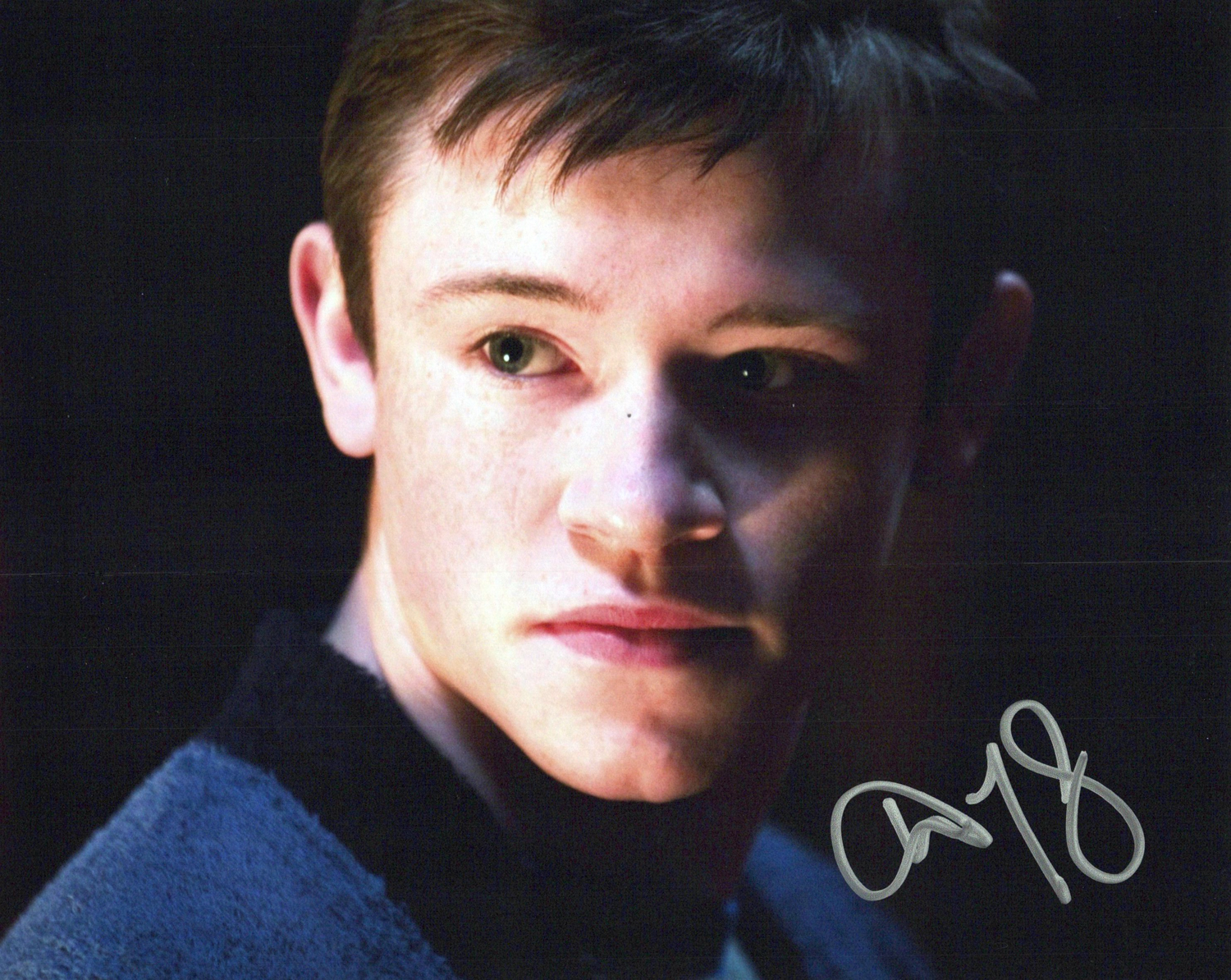 Devon Murray Original Autogramm auf Foto 20x25cm - Harry Potter