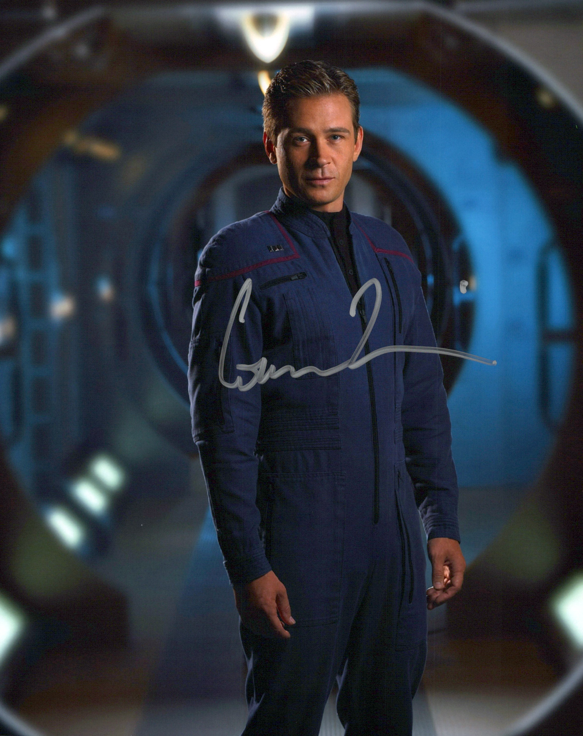 Conner Trinneer Original Autogramm auf Foto 20x25cm - Star Trek Enterprise