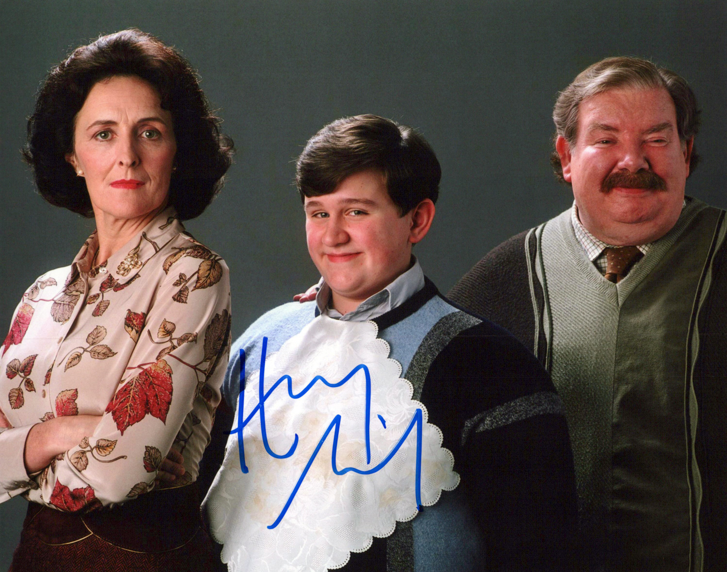 Harry Melling Original Autogramm auf Foto 20x25cm - Harry Potter
