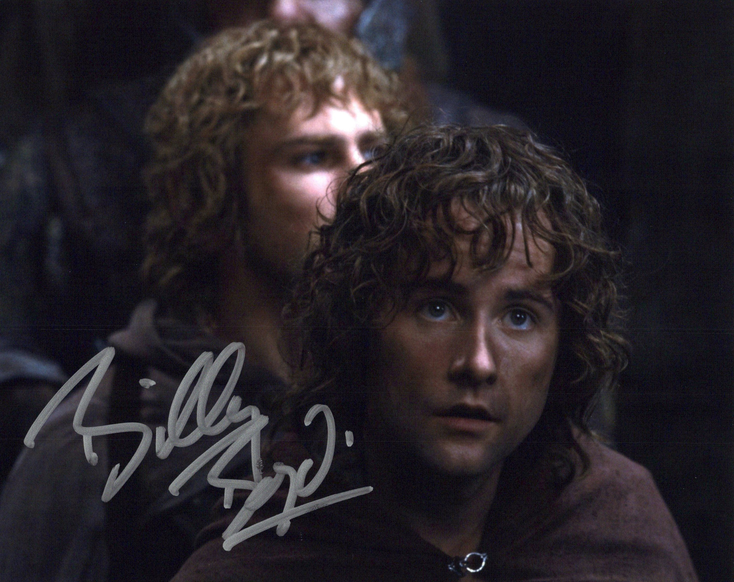 Billy Boyd Original Autogramm auf Foto 20x25cm - Der Herr der Ringe/Lord of the Rings