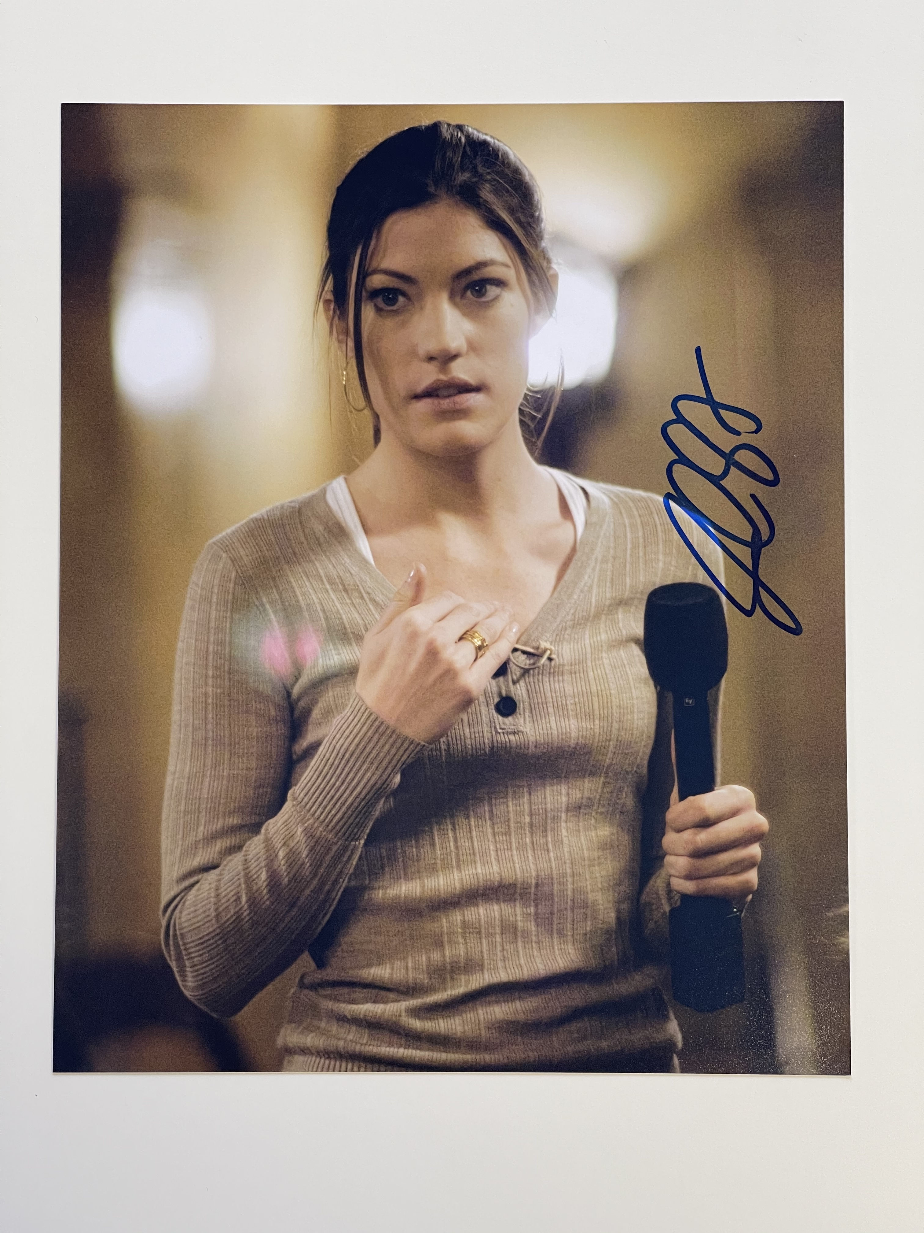 Jennifer Carpenter - 10 EUR Aktion - Original Autogramm auf Foto 20x25cm