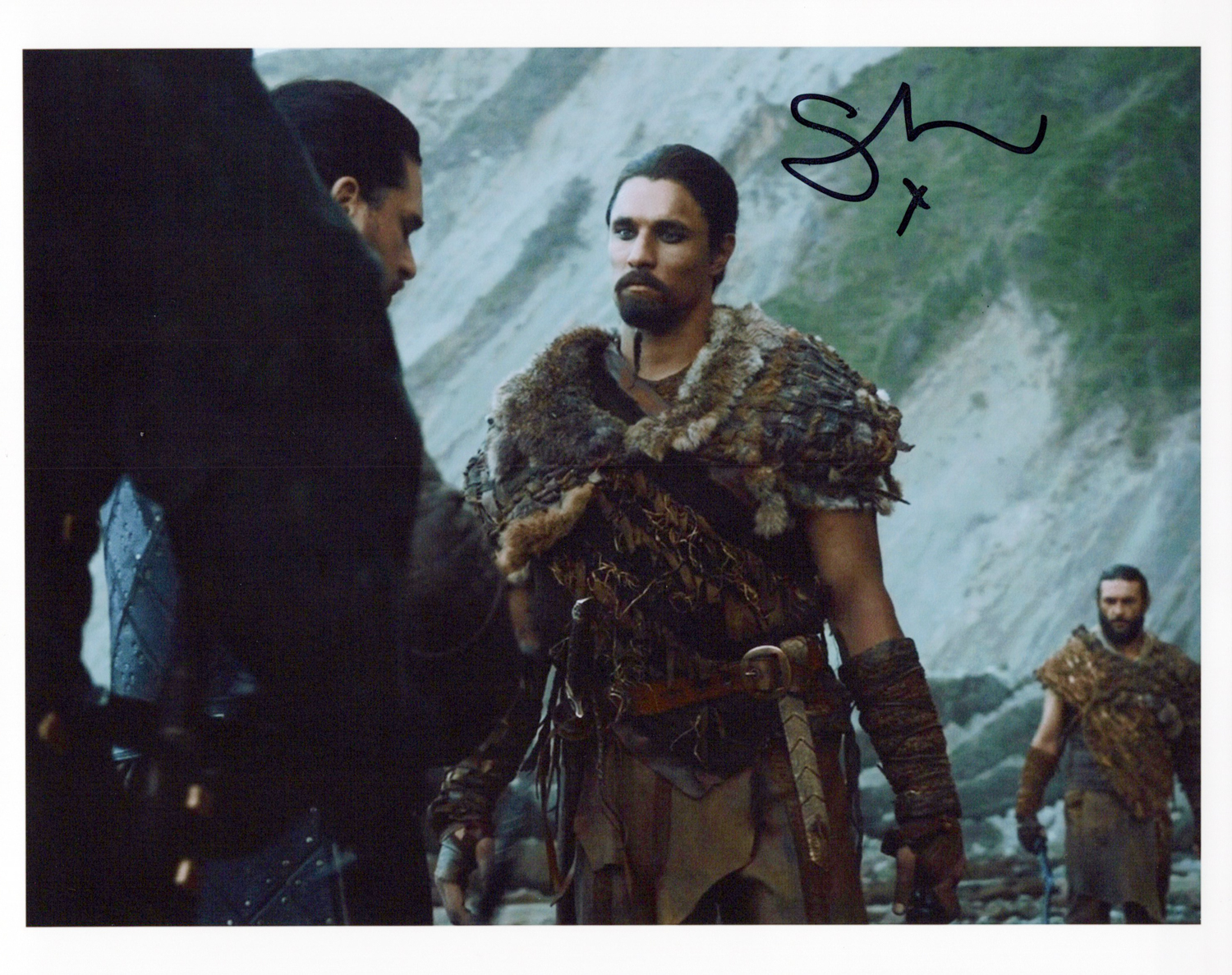 Staz Nair Original Autogramm auf Foto 20x25cm  - Game of Thrones