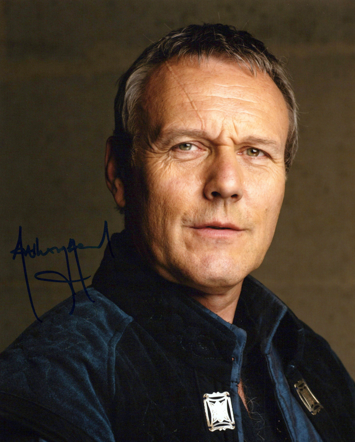Anthony Head Original Autogramm auf Foto 20x25cm - Merlin