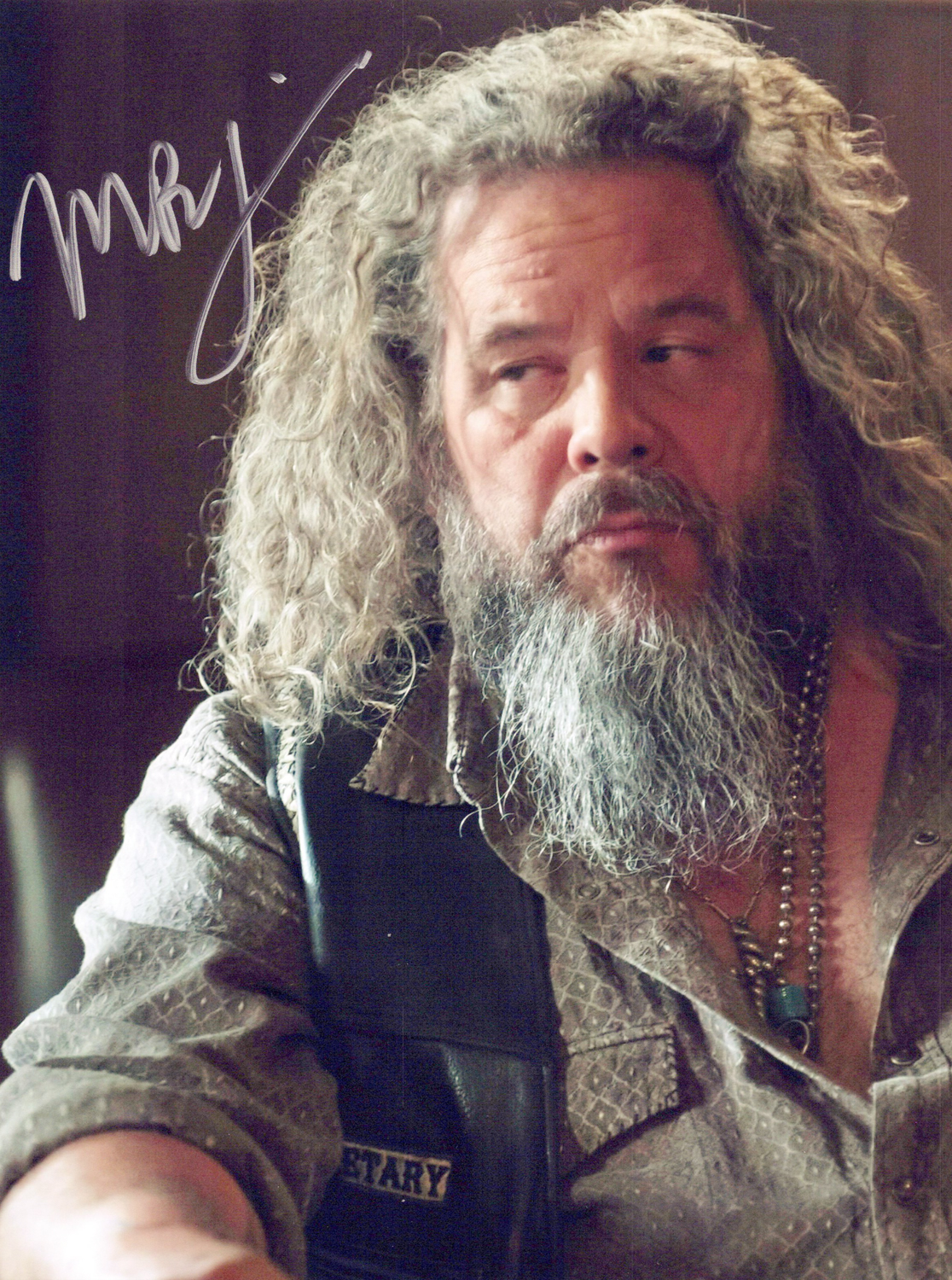 Mark Boone Jr. Original Autogramm auf Foto 20x25cm - Sons of Anarchy