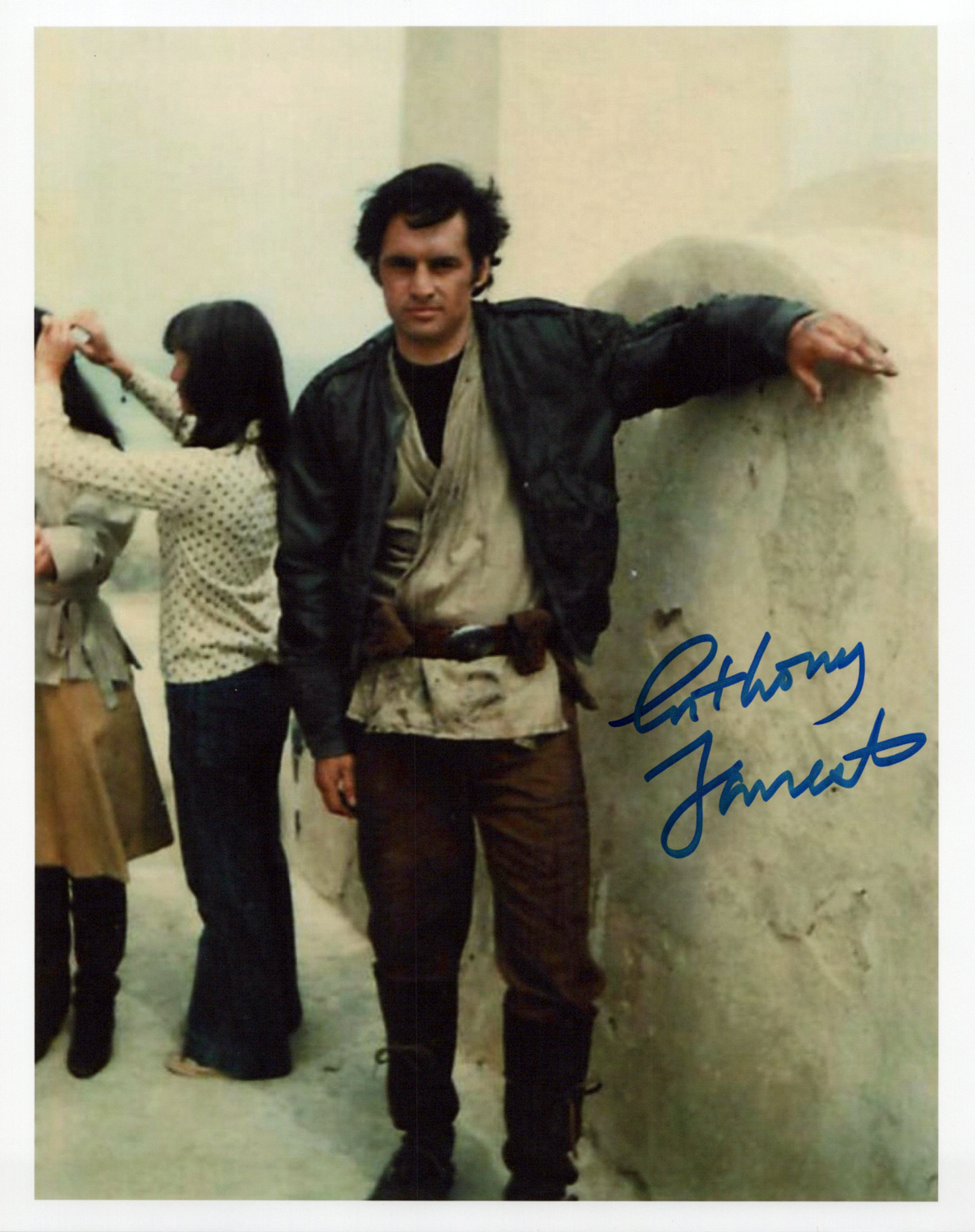 Anthony Forrest Original Autogramm auf Foto 20x25cm - Star Wars