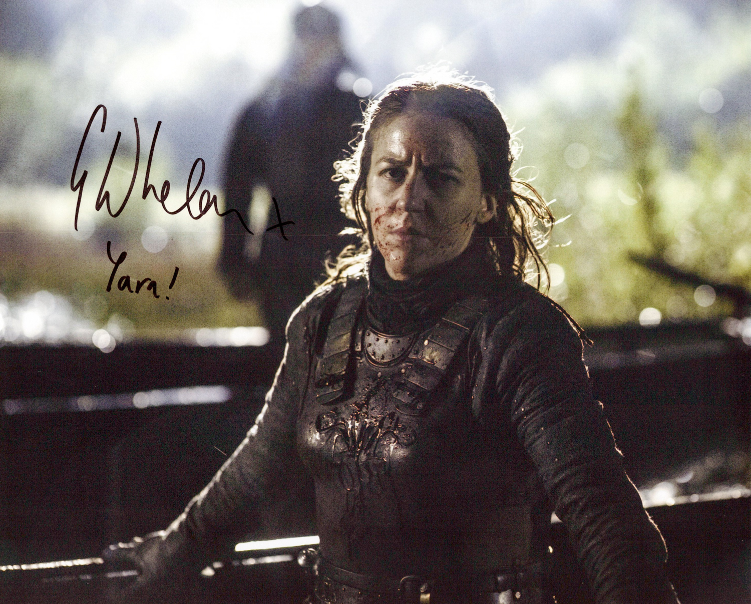 Gemma Whelan Original Autogramm auf Foto 20x25cm - Game of Thrones