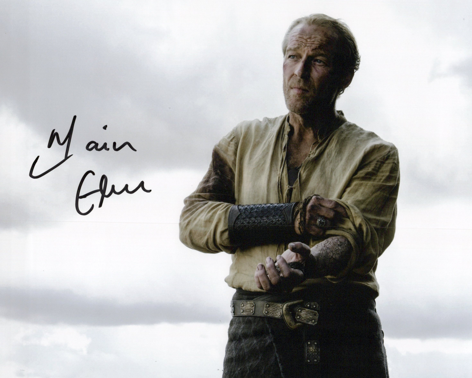 Iain Glen Original Autogramm auf Foto 20x25cm - Game of Thrones
