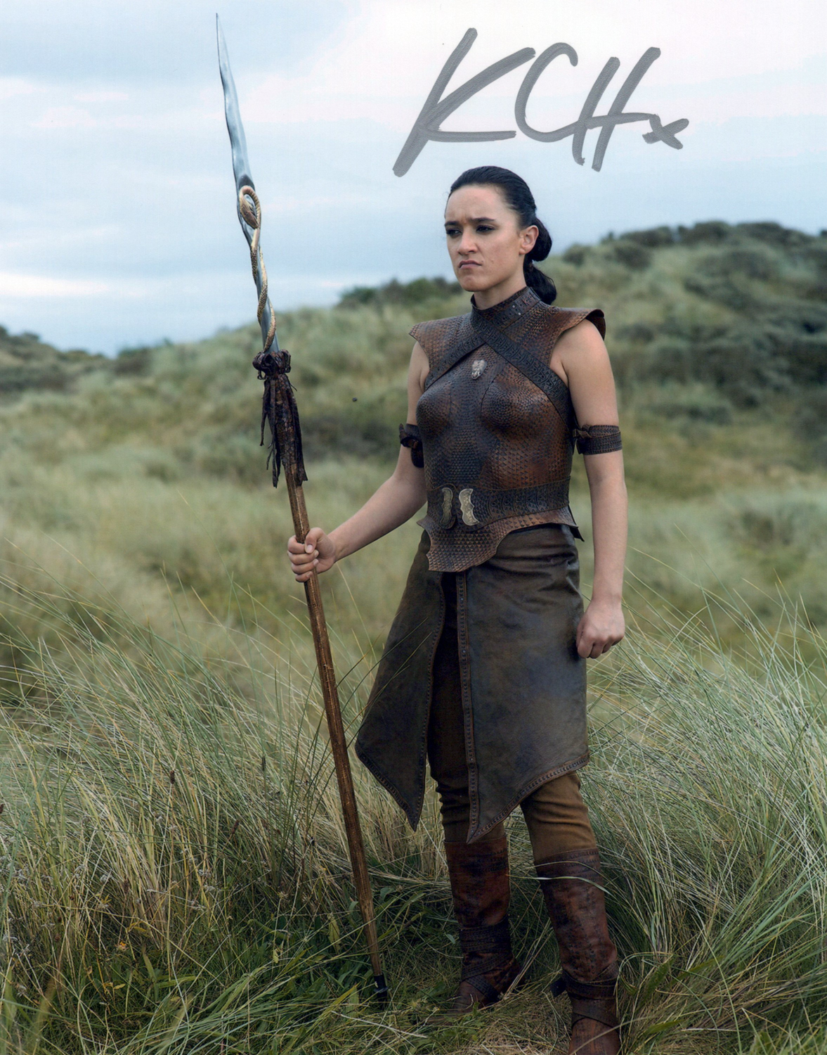 Keisha Castle-Hughes Original Autogramm auf Foto 20x25cm - Game of Thrones