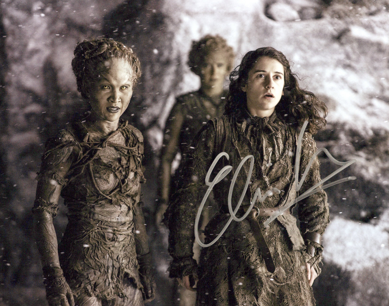 Ellie Kendrick Original Autogramm auf Foto 20x25cm - Game of Thrones