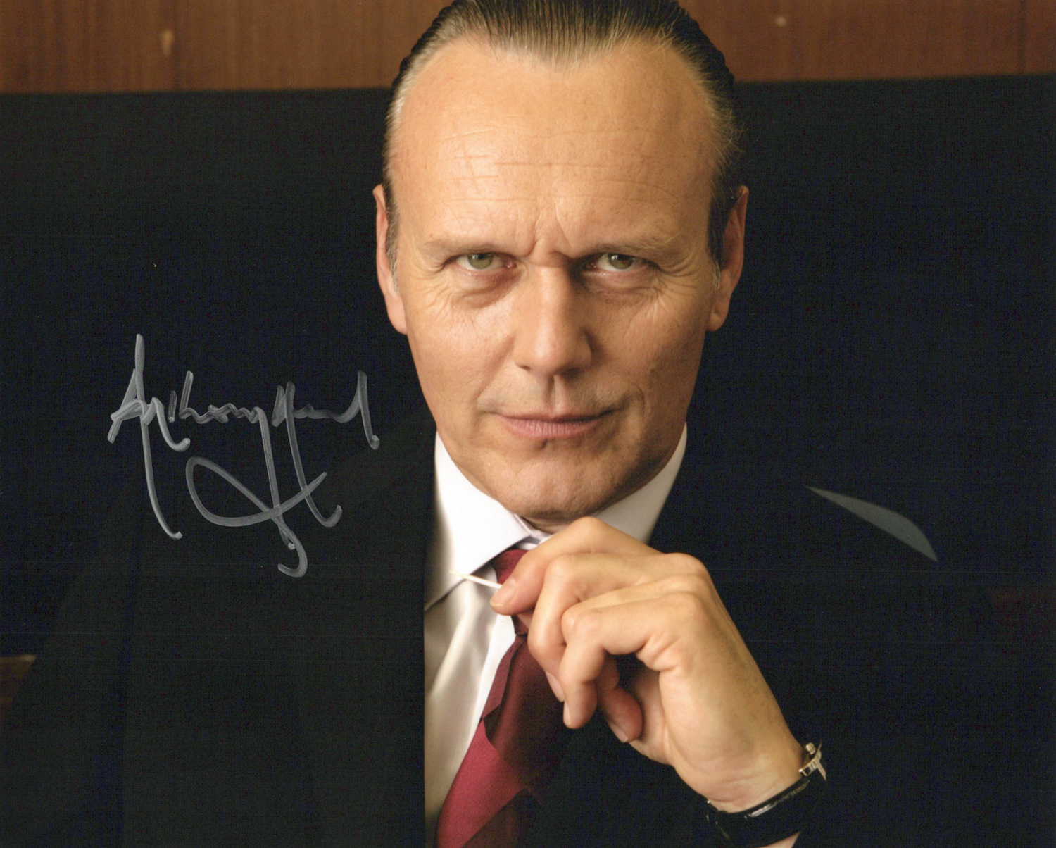 Anthony Head Original Autogramm auf Foto 20x25cm - Doctor Who