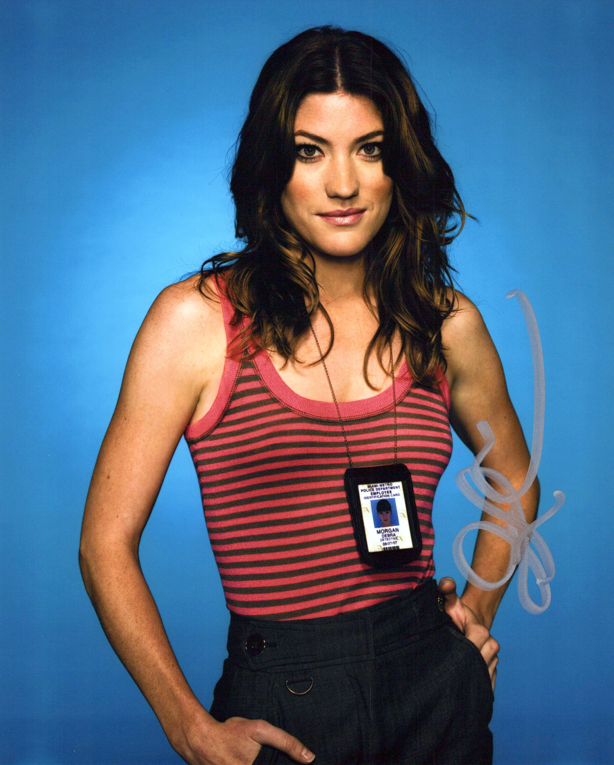 Jennifer Carpenter Original Autogramm auf Foto 20x25cm - Dexter