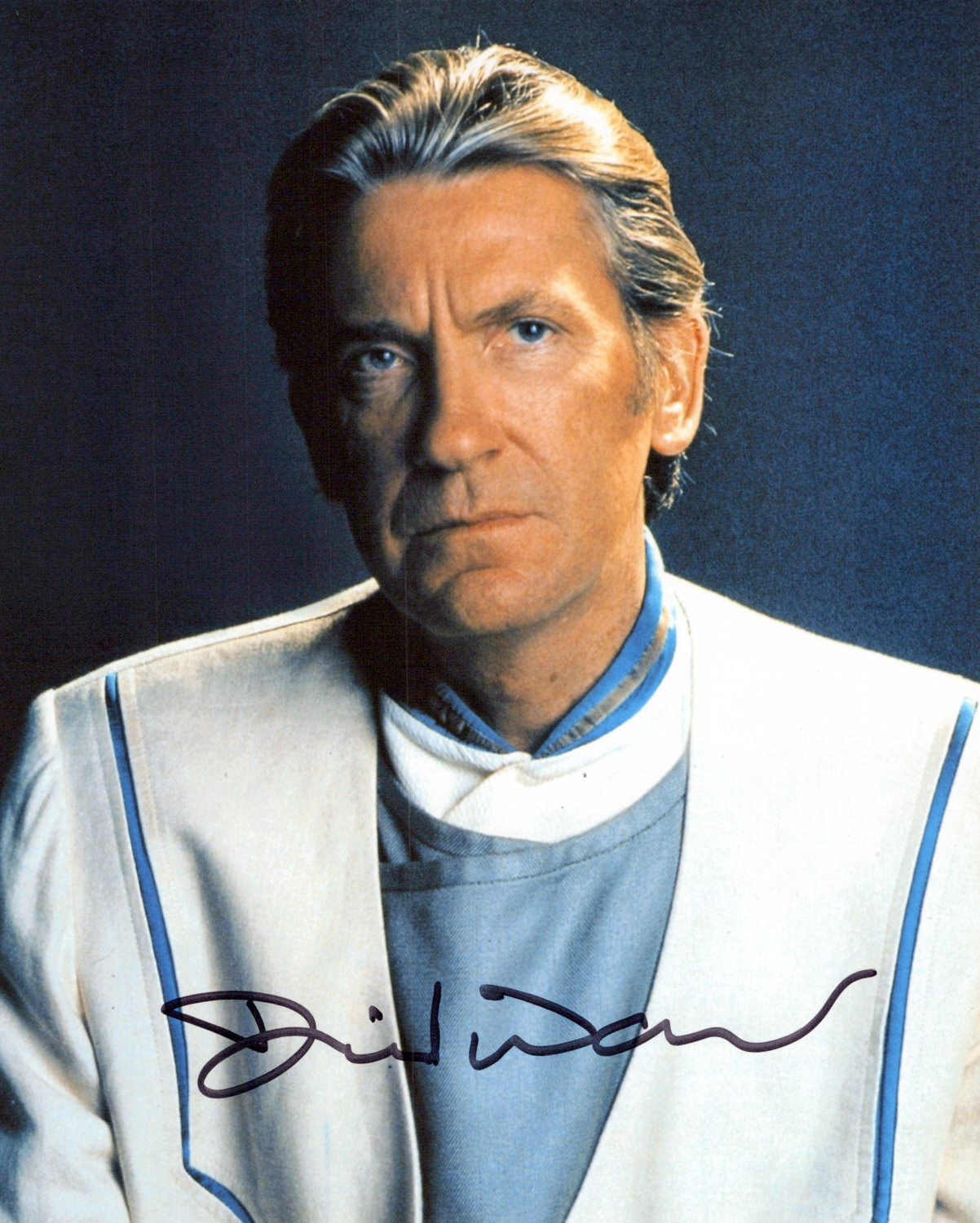 David Warner Original Autogramm auf Foto 20x25cm - Star Trek