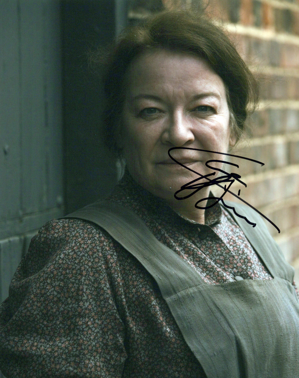 Clare Higgins Original Autogramm auf Foto 20x25cm - Downton Abbey