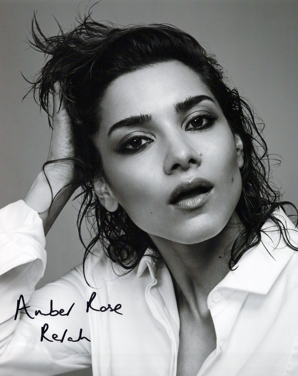 Amber Rose Revah Original Autogramm auf Foto 20x25cm - Punisher