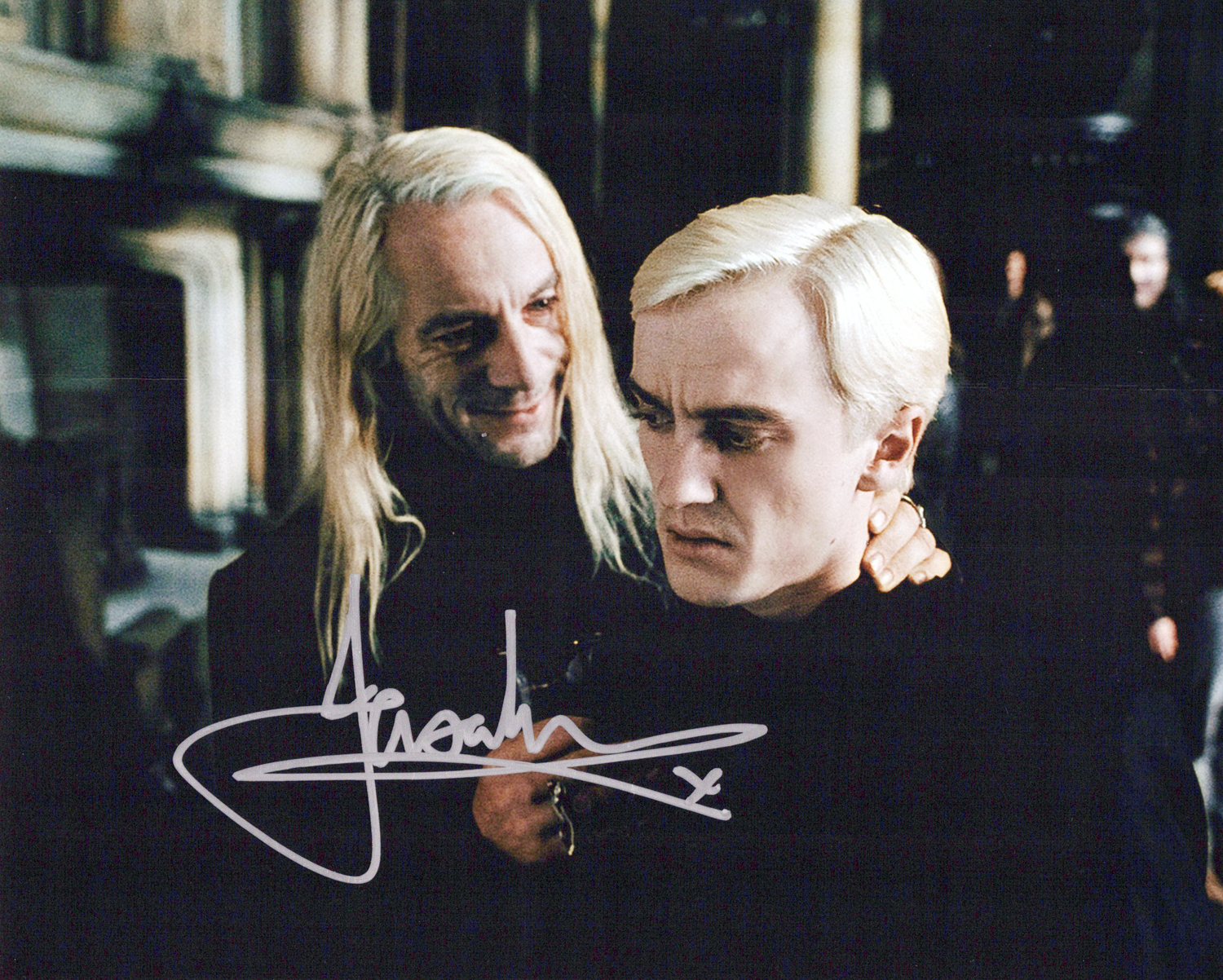 Jason Isaacs Original Autogramm auf Foto 20x25cm - Harry Potter