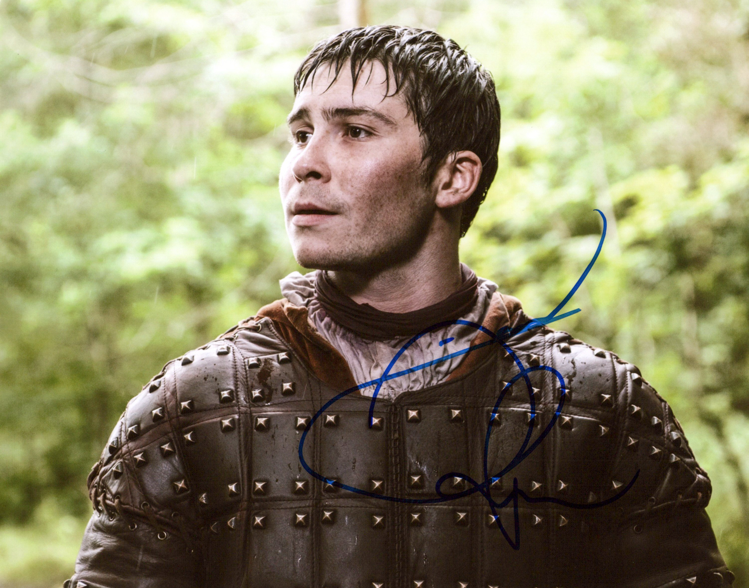 Daniel Portman Original Autogramm auf Foto 20x25cm - Game of Thrones