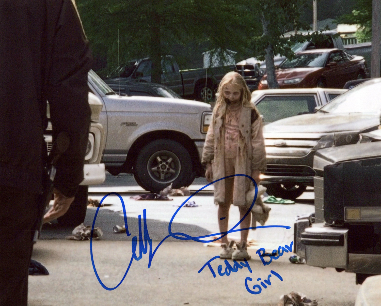Addy Miller Original Autogramm auf Foto 20x25cm - The Walking Dead