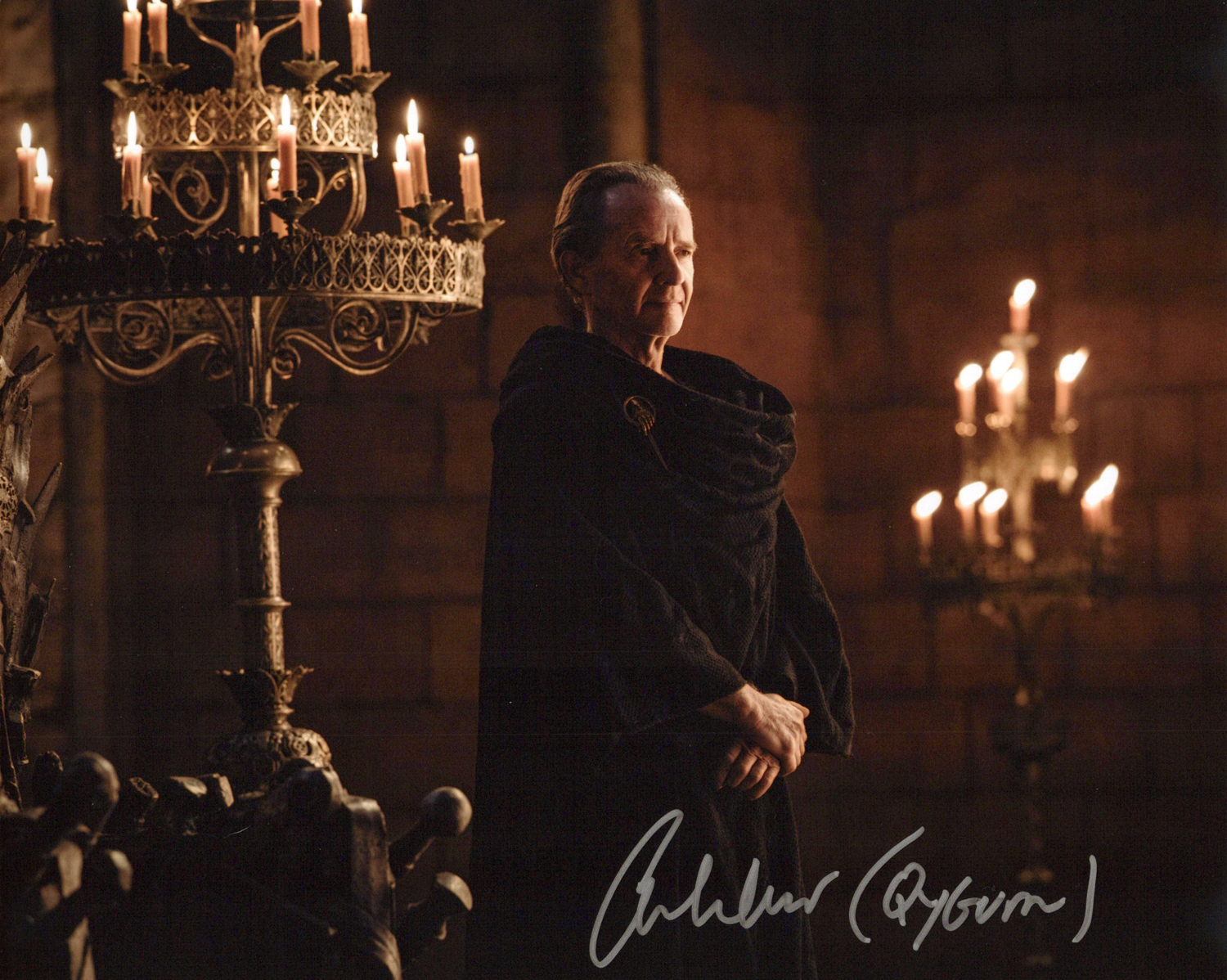 Anton Lesser Original Autogramm auf Foto 20x25cm - Game of Thrones