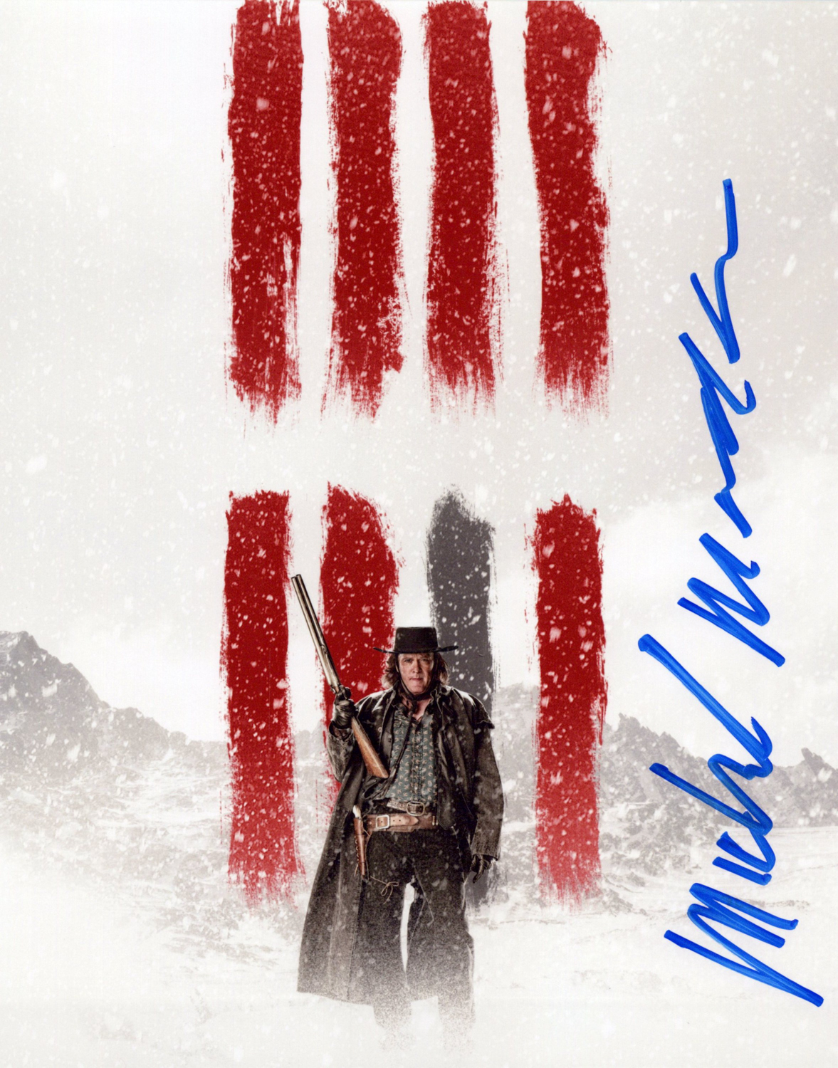 Michael Madsen Original Autogramm auf Foto 20x25cm - The Hateful 8