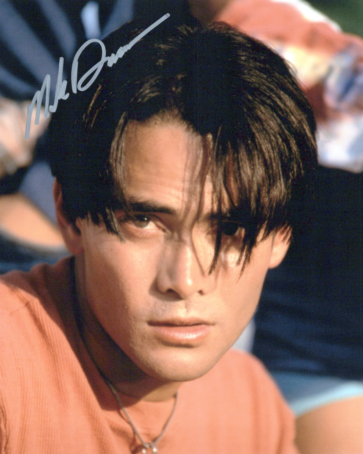 Mark Dacascos Original Autogramm auf Foto 20x25cm  - Double Dragon