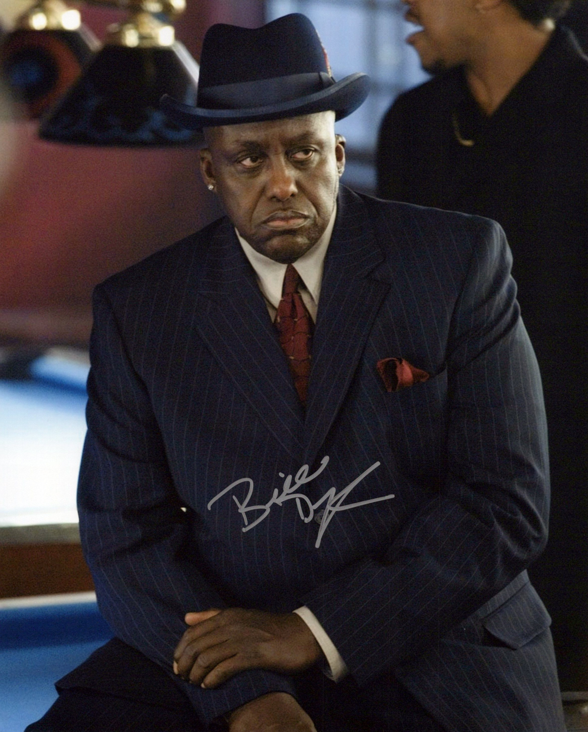 Bill Duke Original Autogramm auf Foto 20x25cm - Rich or Die trying