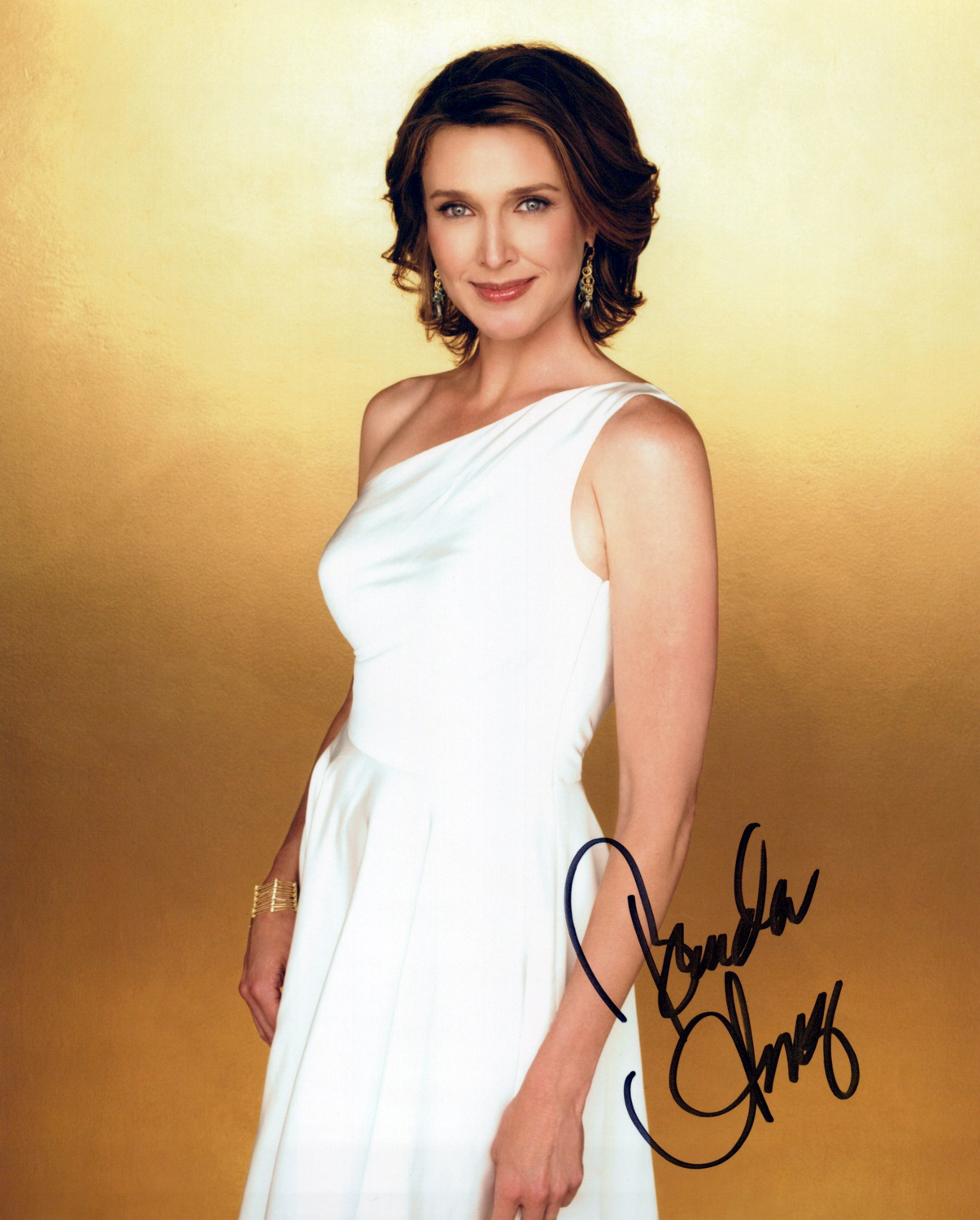 Brenda Strong Original Autogramm auf Foto 20x25cm - Dallas