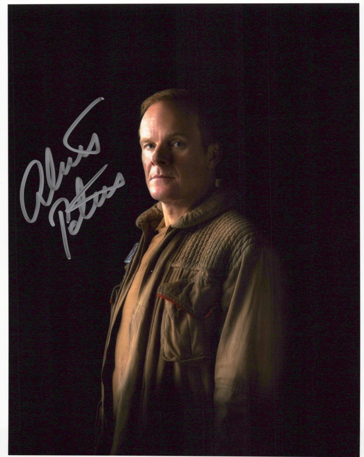 Alistair Petrie Original Autogramm auf Foto 20x25cm - Star Wars-Rogue One