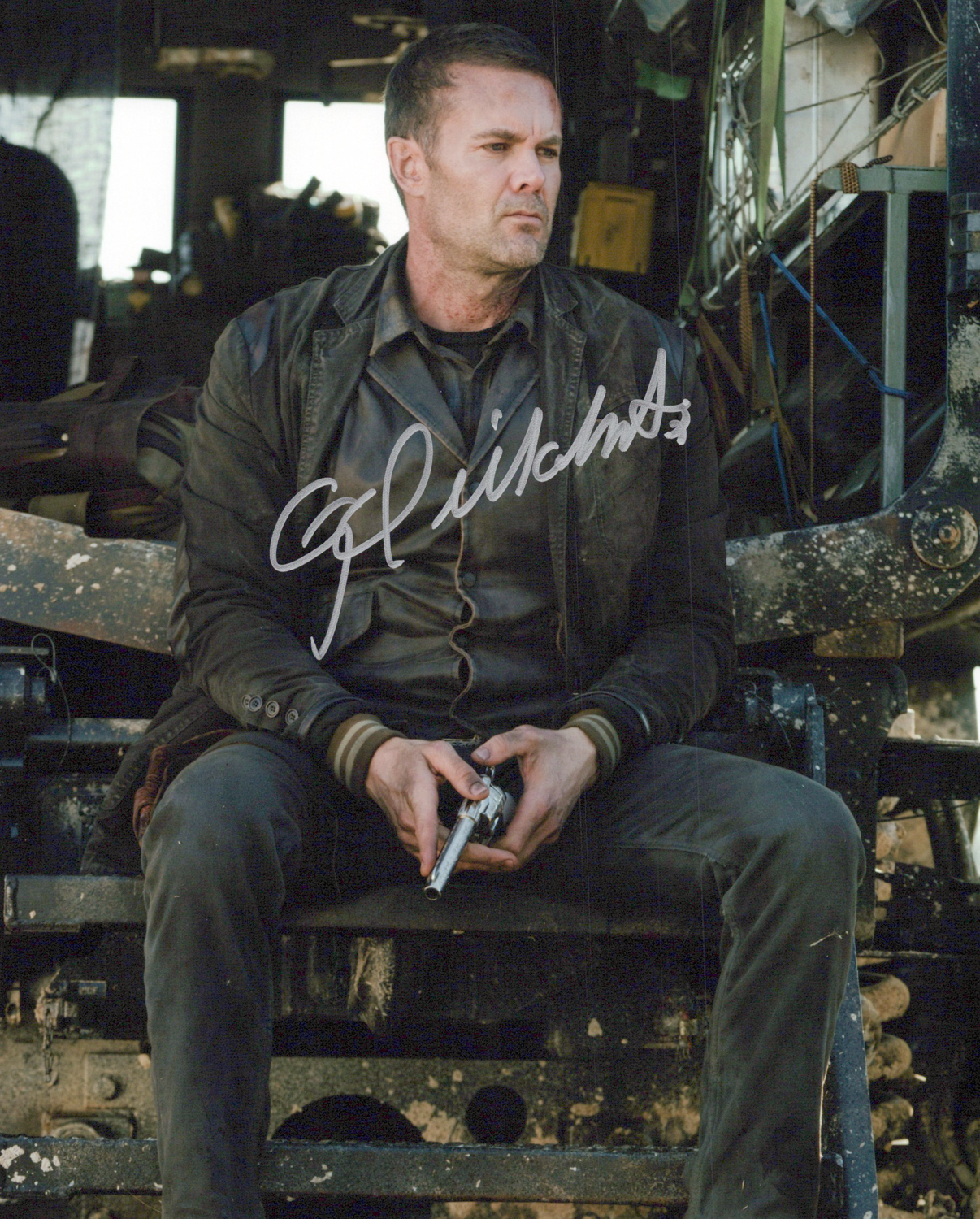 Garret Dillahunt Original Autogramm auf Foto 20x25cm -  Fear the Walking Dead