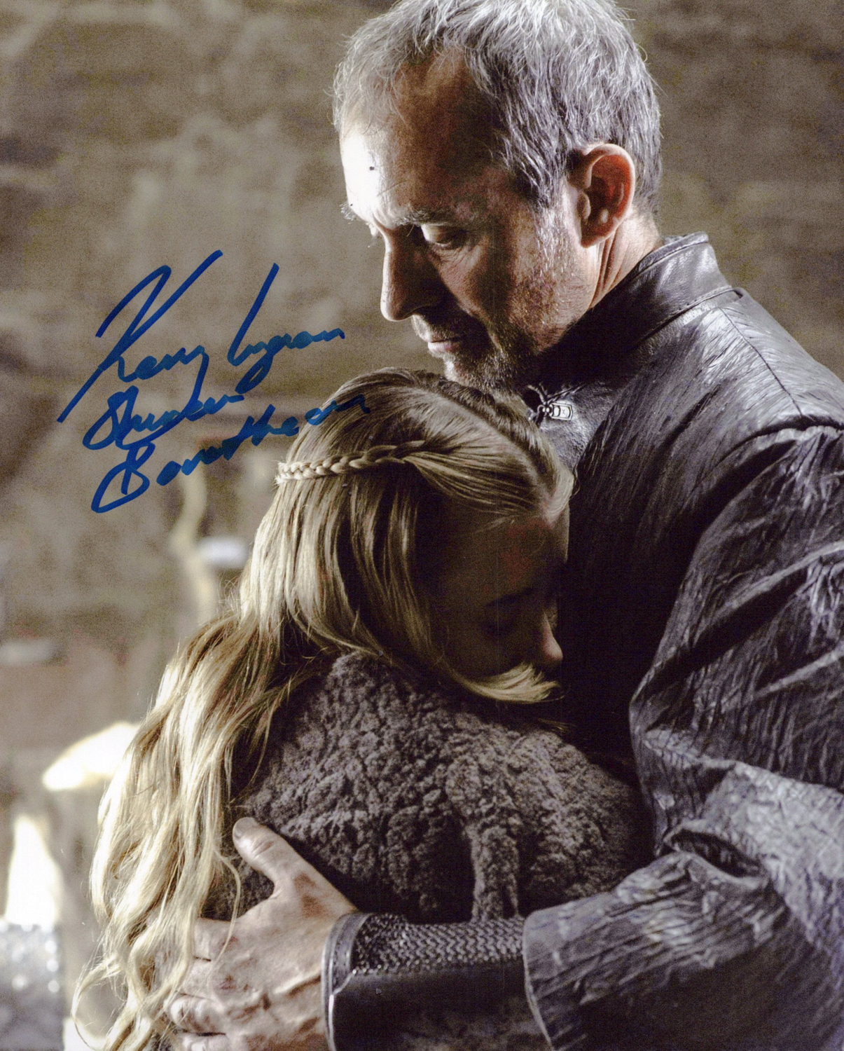 Kerry Ingram Original Autogramm auf Foto 20x25cm - Game of Thrones