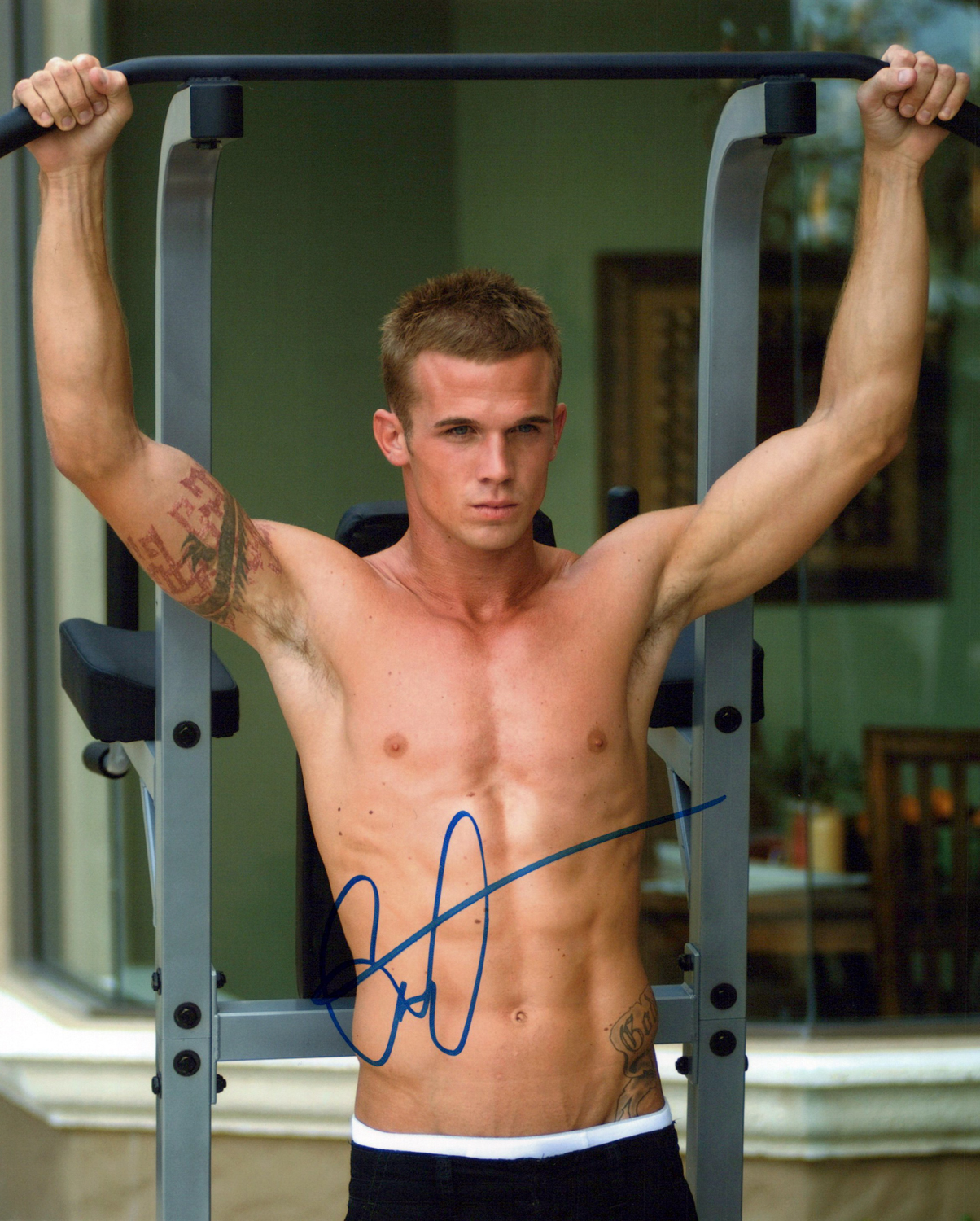Cam Gigandet  Original Autogramm auf Foto 20x25cm - The Fighters