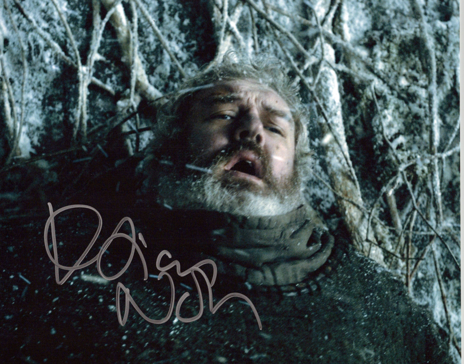 Kristian Nairn Original Autogramm auf Foto 20x25cm - Game of Thrones