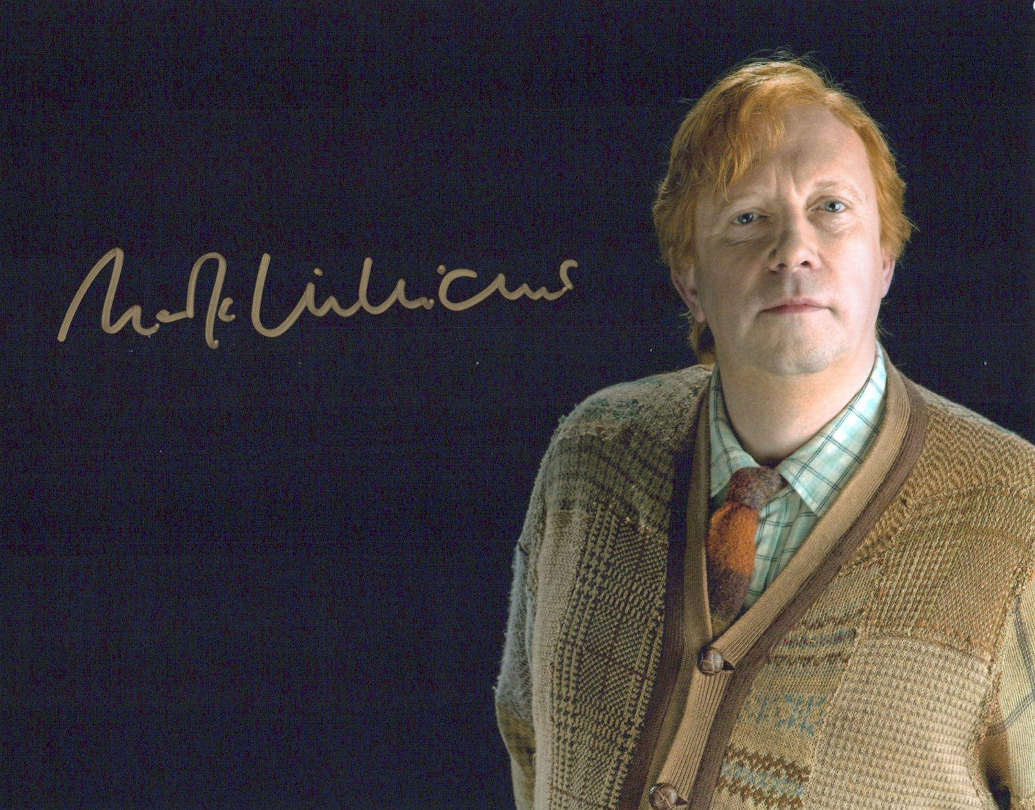 Mark Williams Original Autogramm auf Foto 20x25cm - Harry Potter