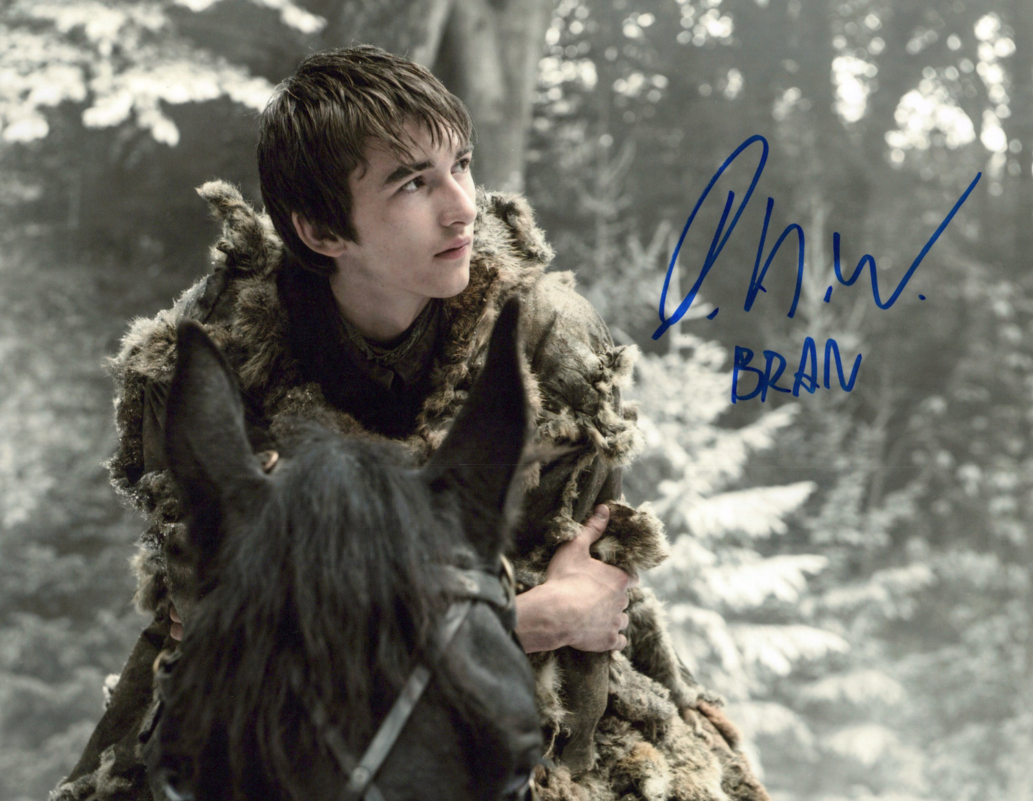 Isaac H. Wright Original Autogramm auf Foto 20x25cm - Game of Thrones
